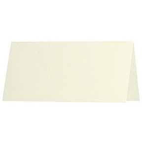Artoz Samsa - 'Ivory' Paper. 100mm x 90mm 135gsm Place Card Paper.