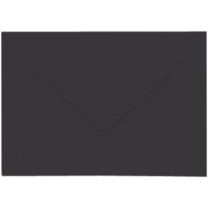 Artoz Samsa - 'Black' Envelope. 110mm x 75mm 135gsm C7 Gummed Envelope.
