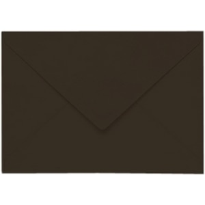 Artoz Samsa - 'Chocolate' Envelope. 110mm x 75mm 135gsm C7 Gummed Envelope.