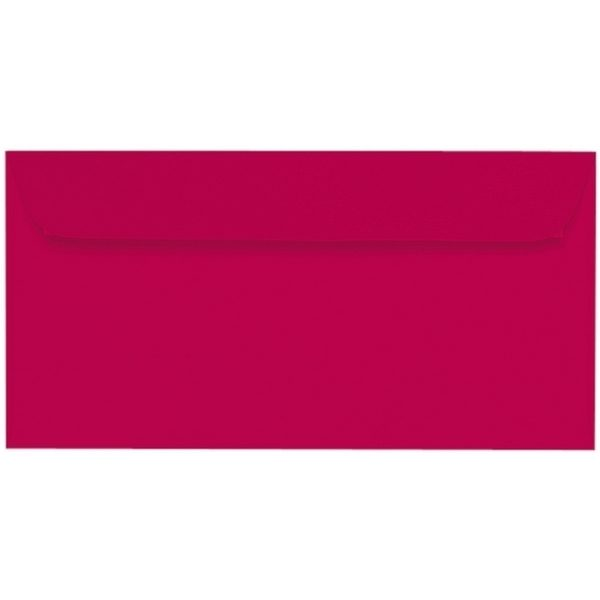 Artoz Samsa - 'Red' Envelope. 224mm x 114mm 135gsm DL Peel/Seal Envelope.