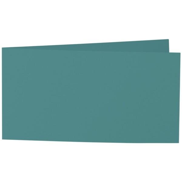 Artoz Samsa - 'Emerald Green' Card. 420mm x 105mm 270gsm DL Bi-Fold (Short Edge) Card.