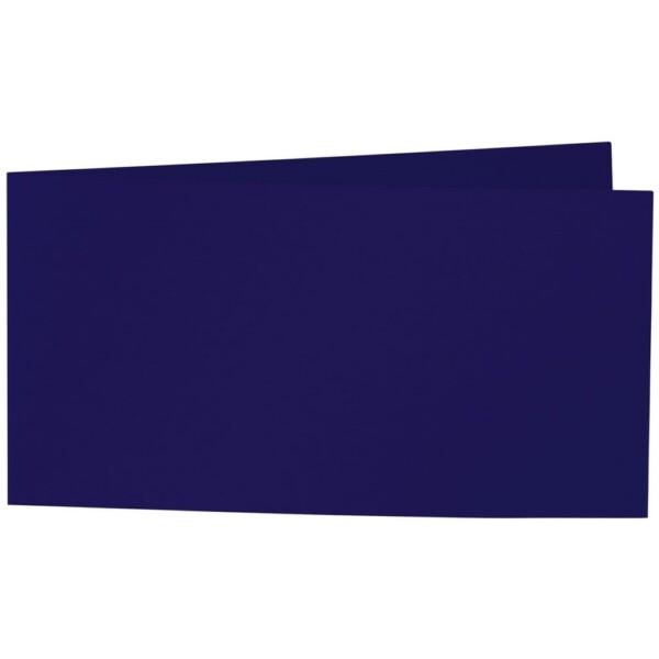 Artoz Samsa - 'Aubergine' Card. 420mm x 105mm 270gsm DL Bi-Fold (Short Edge) Card.