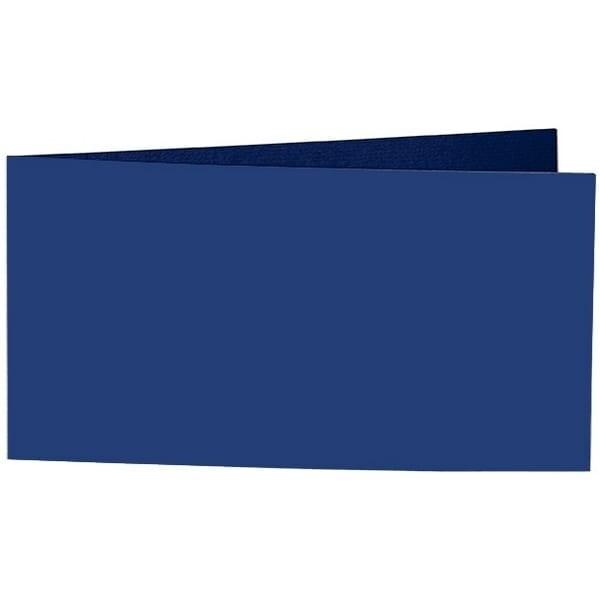 Artoz Samsa - 'Indigo' Card. 420mm x 105mm 270gsm DL Bi-Fold (Short Edge) Card.