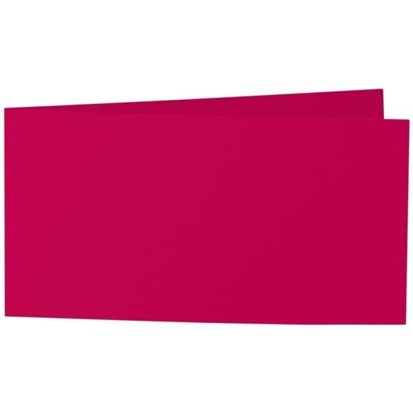 Artoz Samsa - 'Red' Card. 420mm x 105mm 270gsm DL Bi-Fold (Short Edge) Card.