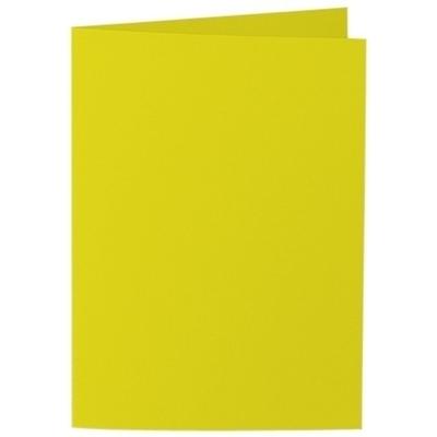 Artoz Samsa - 'Lime' Card. 210mm x 148mm 270gsm A6 Folded (Long Edge) Card.