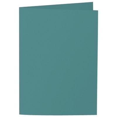 Artoz Samsa - 'Emerald Green' Card. 210mm x 148mm 270gsm A6 Folded (Long Edge) Card.