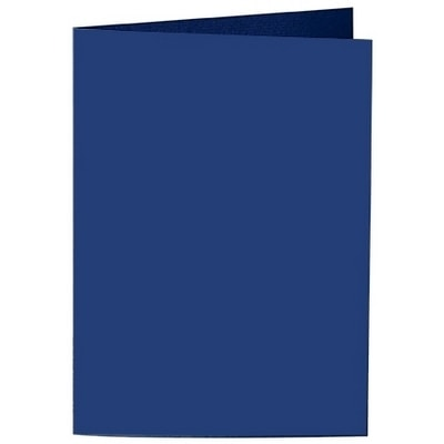 Artoz Samsa - 'Indigo' Card. 210mm x 148mm 270gsm A6 Folded (Long Edge) Card.