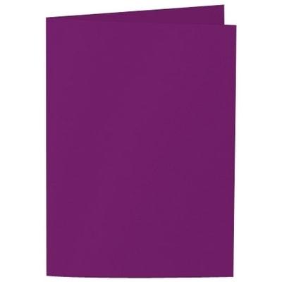 Artoz Samsa - 'Purple' Card. 210mm x 148mm 270gsm A6 Folded (Long Edge) Card.