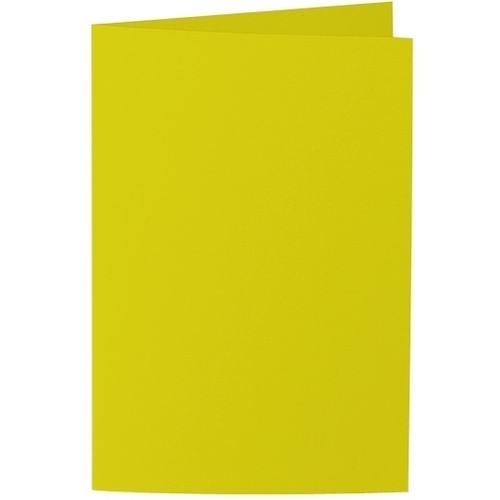 Artoz Samsa - 'Lime' Card. 240mm x 169mm 270gsm B6 Bi-Fold (Long Edge) Card.