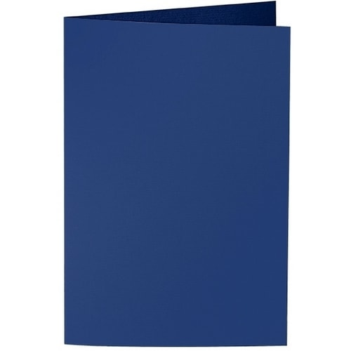 Artoz Samsa - 'Indigo' Card. 240mm x 169mm 270gsm B6 Bi-Fold (Long Edge) Card.