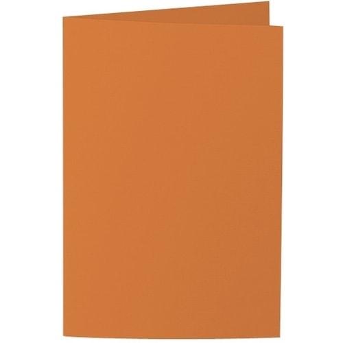 Artoz Samsa - 'Nectarine' Card. 240mm x 169mm 270gsm B6 Bi-Fold (Long Edge) Card.