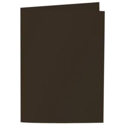 Artoz Samsa - 'Chocolate' Card. 240mm x 169mm 270gsm B6 Bi-Fold (Long Edge) Card.