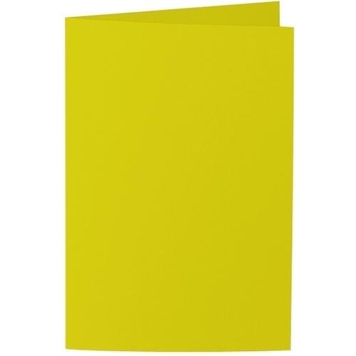 Artoz Samsa - 'Lime' Card. 250mm x 180mm 270gsm E6 Bi-Fold (Long Edge) Card.