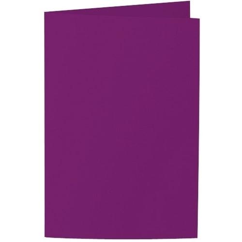 Artoz Samsa - 'Purple' Card. 250mm x 180mm 270gsm E6 Bi-Fold (Long Edge) Card.