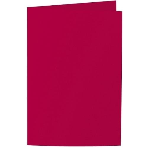 Artoz Samsa - 'Red' Card. 250mm x 180mm 270gsm E6 Bi-Fold (Long Edge) Card.