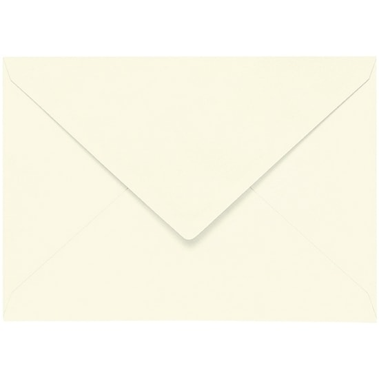Artoz Samsa - 'Ivory' Envelope. 191mm x 135mm 135gsm E6 Gummed Envelope.