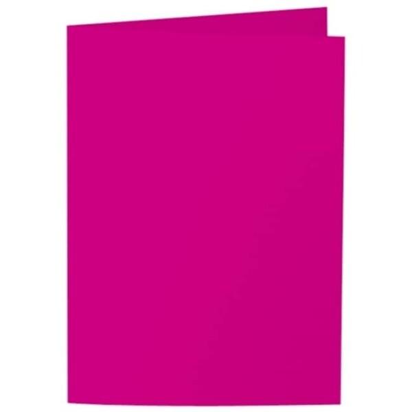 Artoz Samsa - 'Pink' Card. 297mm x 210mm 270gsm A5 Folded (Long Edge) Card.