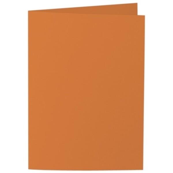 Artoz Samsa - 'Nectarine' Card. 297mm x 210mm 270gsm A5 Folded (Long Edge) Card.