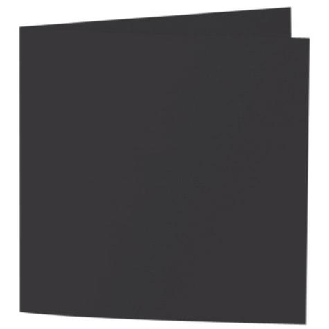 Artoz Samsa - 'Black' Card. 310mm x 155mm 270gsm Square Folded Card.
