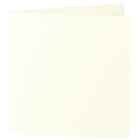 Artoz Samsa - 'Ivory' Card. 310mm x 155mm 270gsm Square Folded Card.