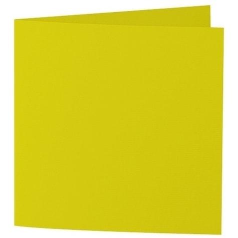 Artoz Samsa - 'Lime' Card. 310mm x 155mm 270gsm Square Folded Card.