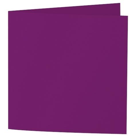 Artoz Samsa - 'Purple' Card. 310mm x 155mm 270gsm Square Folded Card.
