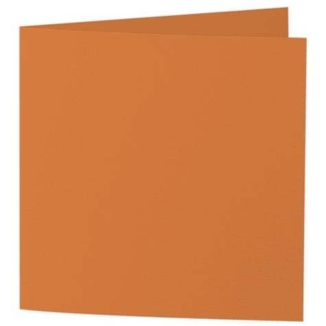 Artoz Samsa - 'Nectarine' Card. 310mm x 155mm 270gsm Square Folded Card.
