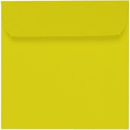 Artoz Samsa - 'Lime' Envelope. 160mm x 160mm 135gsm Square Peel/Seal Envelope.
