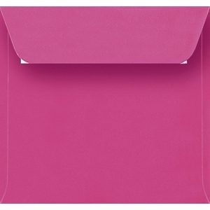 Artoz Samsa - 'Pink' Envelope. 160mm x 160mm 135gsm Square Peel/Seal Envelope.