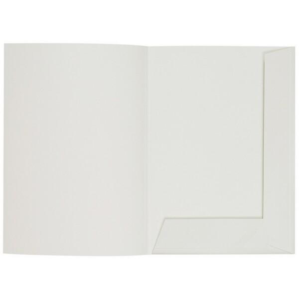 Artoz 1001 - 'Silver Grey' Folder. 220mm x 310mm 220gsm A4 Presentation Folder.