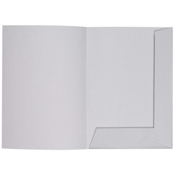 Artoz 1001 - 'Light Grey' Folder. 220mm x 310mm 220gsm A4 Presentation Folder.