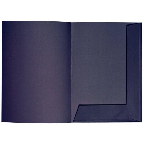 Artoz 1001 - 'Jet Black' Folder. 220mm x 310mm 220gsm A4 Presentation Folder.