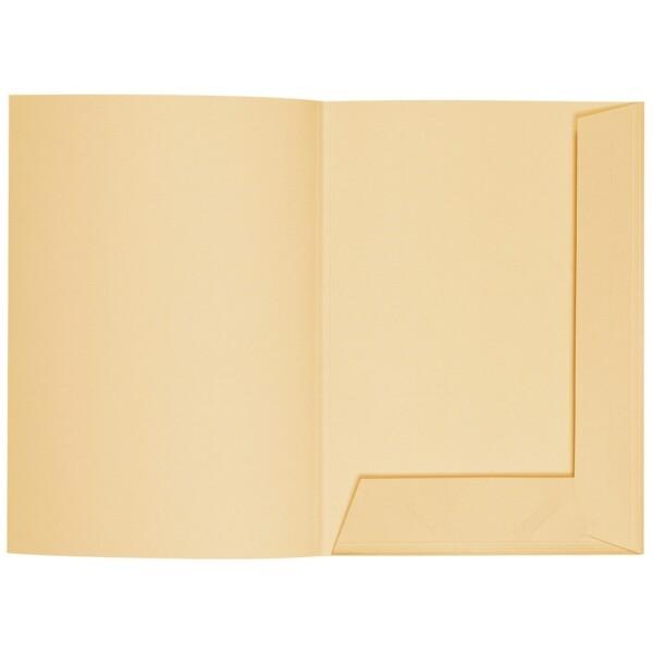 Artoz 1001 - 'Honey Yellow' Folder. 220mm x 310mm 220gsm A4 Presentation Folder.