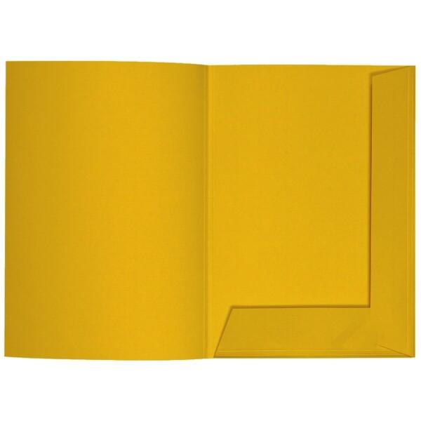 Artoz 1001 - 'Kiwi' Folder. 220mm x 310mm 220gsm A4 Presentation Folder.
