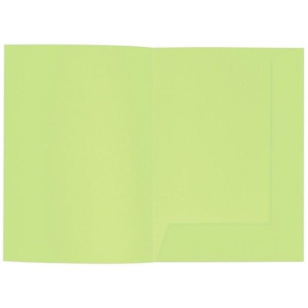 Artoz 1001 - 'Birchtree Green' Folder. 220mm x 310mm 220gsm A4 Presentation Folder.
