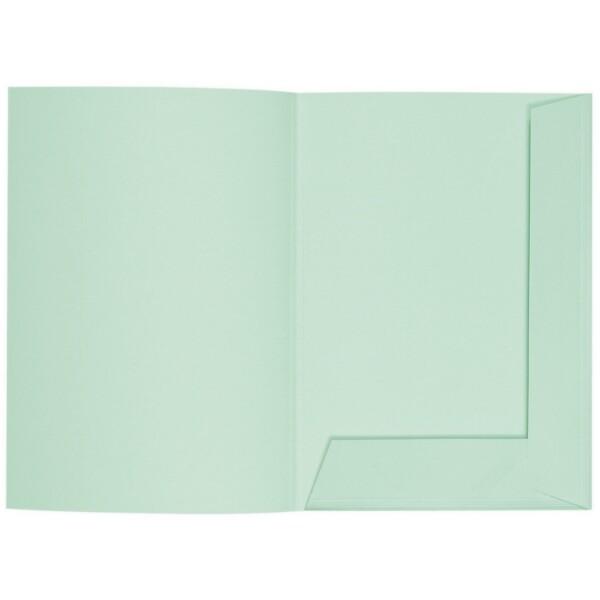 Artoz 1001 - 'Pale Mint' Folder. 220mm x 310mm 220gsm A4 Presentation Folder.