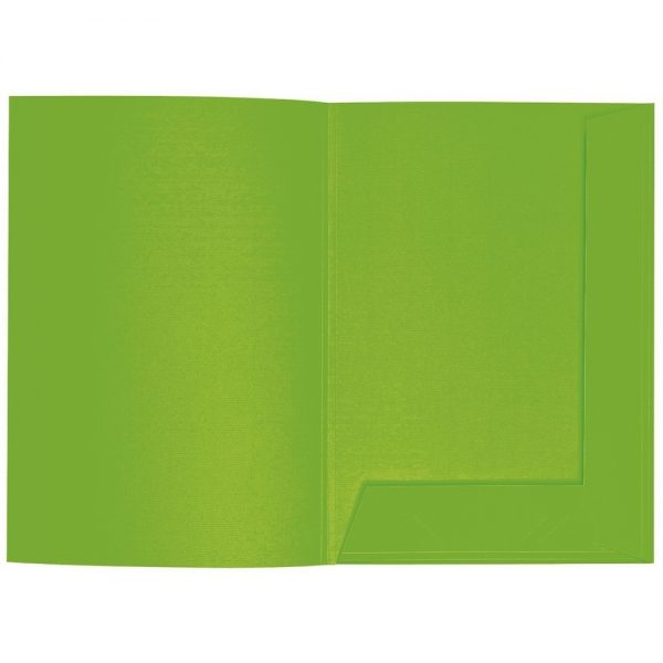 Artoz 1001 - 'Pea Green' Folder. 220mm x 310mm 220gsm A4 Presentation Folder.