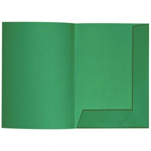 Artoz 1001 - 'Firtree Green' Folder. 220mm x 310mm 220gsm A4 Presentation Folder.