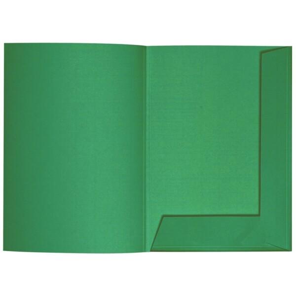 Artoz 1001 - 'Firtree Green' Folder. 220mm x 310mm 220gsm A4 Presentation Folder.