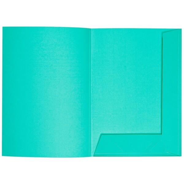 Artoz 1001 - 'Emerald Green' Folder. 220mm x 310mm 220gsm A4 Presentation Folder.