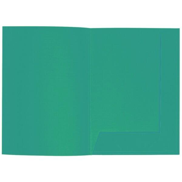 Artoz 1001 - 'Tropical Green' Folder. 220mm x 310mm 220gsm A4 Presentation Folder.