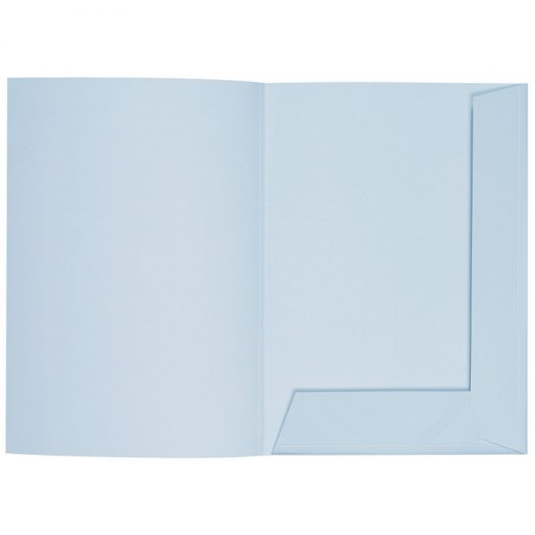 Artoz 1001 - 'Aqua' Folder. 220mm x 310mm 220gsm A4 Presentation Folder.