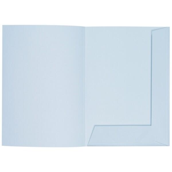 Artoz 1001 - 'Sky Blue' Folder. 220mm x 310mm 220gsm A4 Presentation Folder.