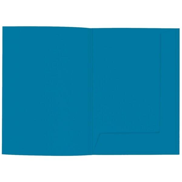 Artoz 1001 - 'Teal' Folder. 220mm x 310mm 220gsm A4 Presentation Folder.