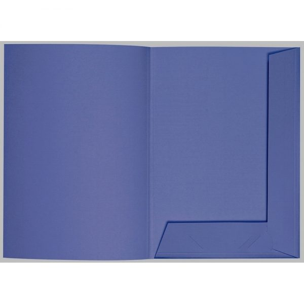 Artoz 1001 - 'Indigo' Folder. 220mm x 310mm 220gsm A4 Presentation Folder.