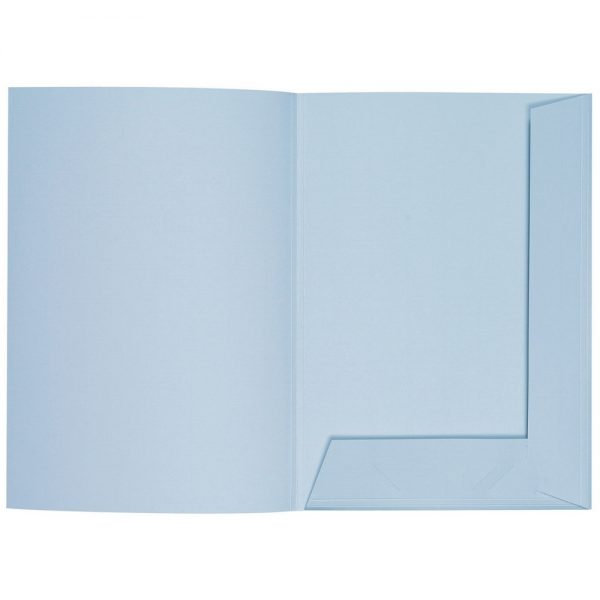 Artoz 1001 - 'Pastel Blue' Folder. 220mm x 310mm 220gsm A4 Presentation Folder.