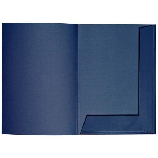 Artoz 1001 - 'Classic Blue' Folder. 220mm x 310mm 220gsm A4 Presentation Folder.