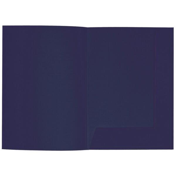 Artoz 1001 - 'Navy Blue' Folder. 220mm x 310mm 220gsm A4 Presentation Folder.