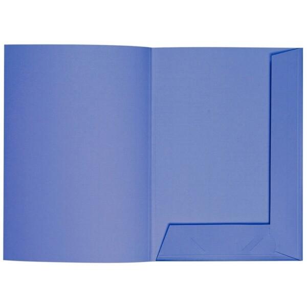 Artoz 1001 - 'Majestic Blue' Folder. 220mm x 310mm 220gsm A4 Presentation Folder.