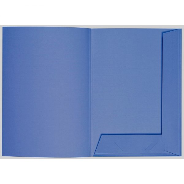 Artoz 1001 - 'Royal Blue' Folder. 220mm x 310mm 220gsm A4 Presentation Folder.